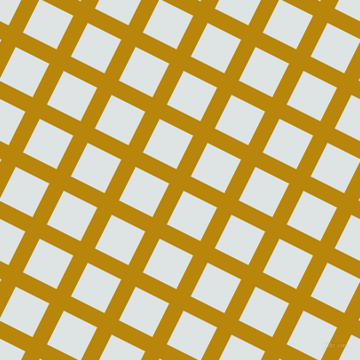 63/153 degree angle diagonal checkered chequered lines, 23 pixel line width, 54 pixel square size, Dark Goldenrod and Zircon plaid checkered seamless tileable