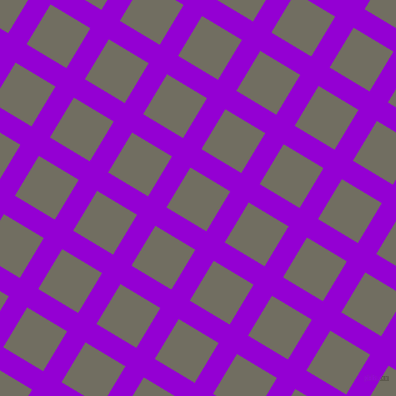 59/149 degree angle diagonal checkered chequered lines, 31 pixel lines width, 67 pixel square size, Dark Violet and Flint plaid checkered seamless tileable