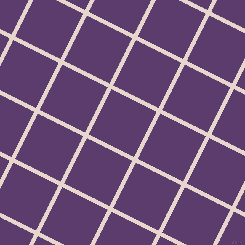 63/153 degree angle diagonal checkered chequered lines, 14 pixel lines width, 171 pixel square size, Dawn Pink and Honey Flower plaid checkered seamless tileable