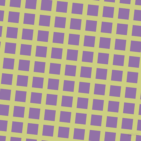 84/174 degree angle diagonal checkered chequered lines, 16 pixel line width, 36 pixel square size, Deco and Ce Soir plaid checkered seamless tileable