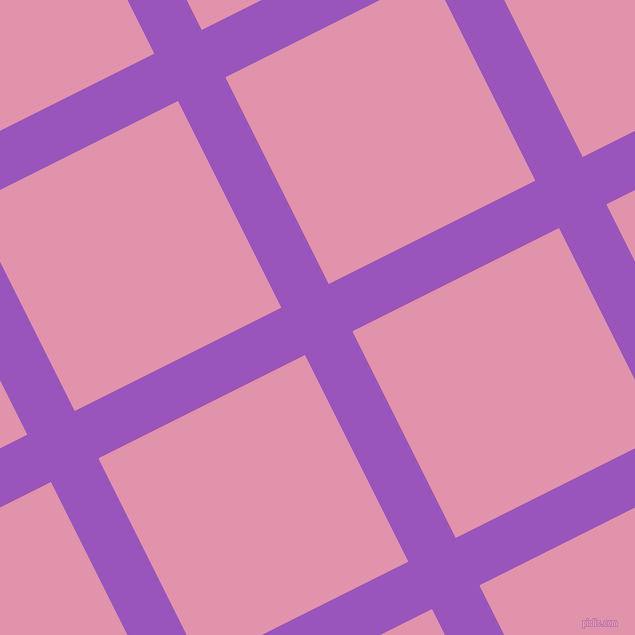 27/117 degree angle diagonal checkered chequered lines, 53 pixel lines width, 231 pixel square size, Deep Lilac and Kobi plaid checkered seamless tileable
