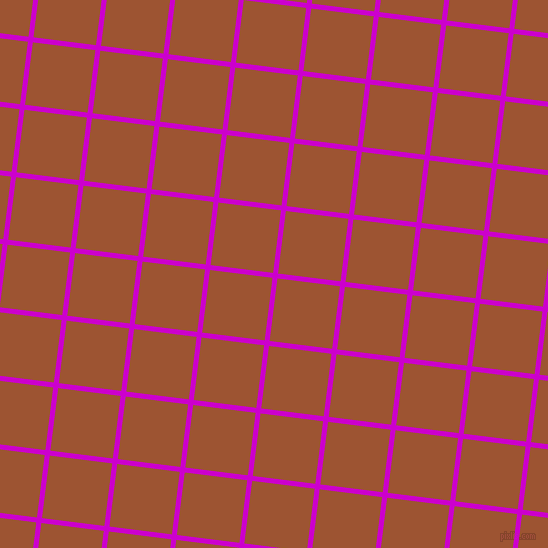 83/173 degree angle diagonal checkered chequered lines, 5 pixel line width, 63 pixel square size, Deep Magenta and Piper plaid checkered seamless tileable