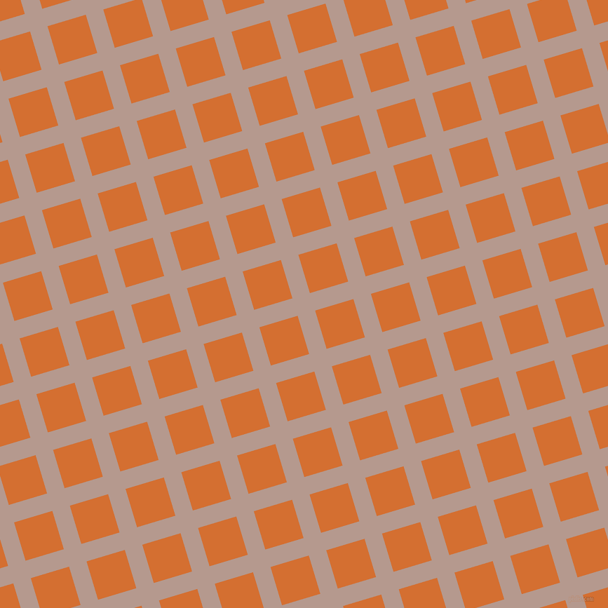 17/107 degree angle diagonal checkered chequered lines, 26 pixel line width, 57 pixel square size, Del Rio and Tango plaid checkered seamless tileable