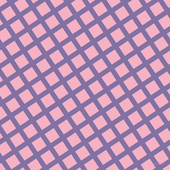 34/124 degree angle diagonal checkered chequered lines, 16 pixel line width, 36 pixel square size, Deluge and Cupid plaid checkered seamless tileable