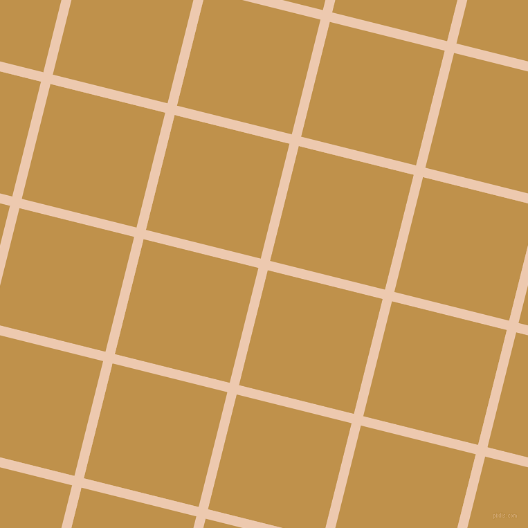 76/166 degree angle diagonal checkered chequered lines, 14 pixel line width, 171 pixel square size, Desert Sand and Tussock plaid checkered seamless tileable