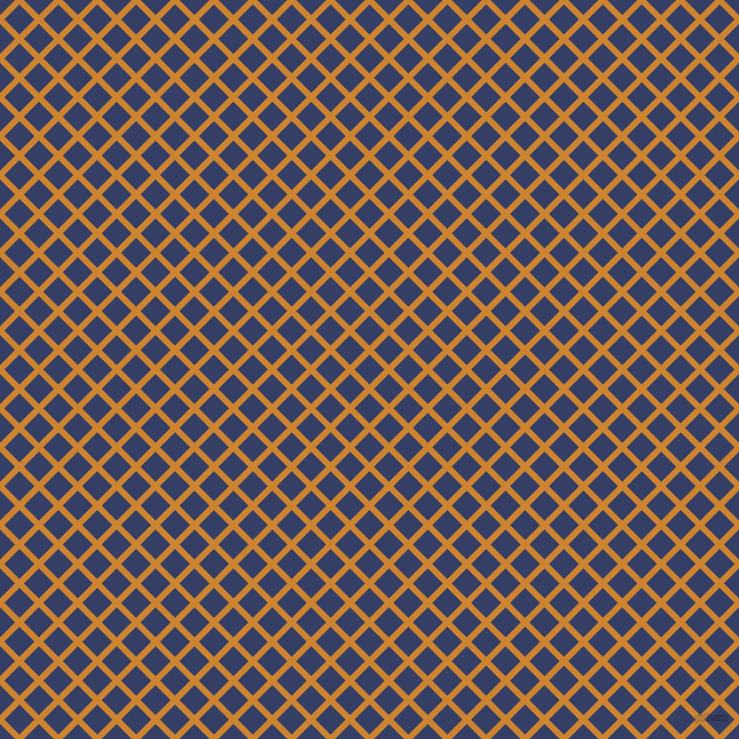 45/135 degree angle diagonal checkered chequered lines, 7 pixel line width, 24 pixel square size, Dixie and Bay Of Many plaid checkered seamless tileable