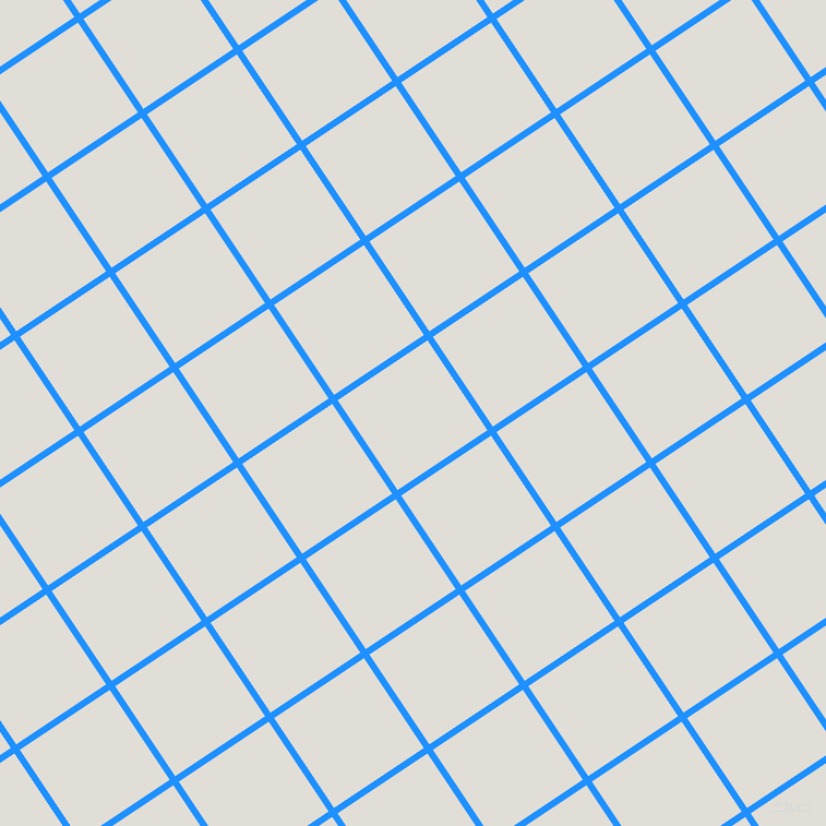 34/124 degree angle diagonal checkered chequered lines, 6 pixel lines width, 99 pixel square size, Dodger Blue and Black Haze plaid checkered seamless tileable