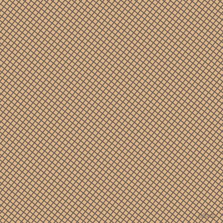 51/141 degree angle diagonal checkered chequered lines, 2 pixel lines width, 7 pixel square size, Dorado and Brandy plaid checkered seamless tileable