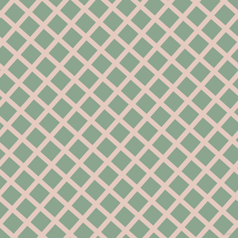 48/138 degree angle diagonal checkered chequered lines, 16 pixel line width, 50 pixel square size, Dust Storm and Envy plaid checkered seamless tileable