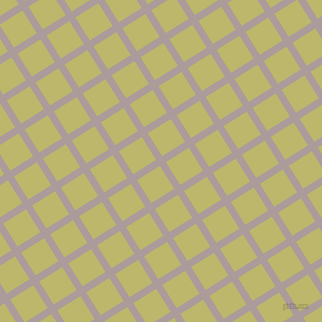 32/122 degree angle diagonal checkered chequered lines, 10 pixel line width, 38 pixel square size, Dusty Grey and Dark Khaki plaid checkered seamless tileable