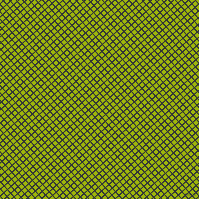 42/132 degree angle diagonal checkered chequered lines, 4 pixel lines width, 13 pixel square size, Ebony and Citrus plaid checkered seamless tileable