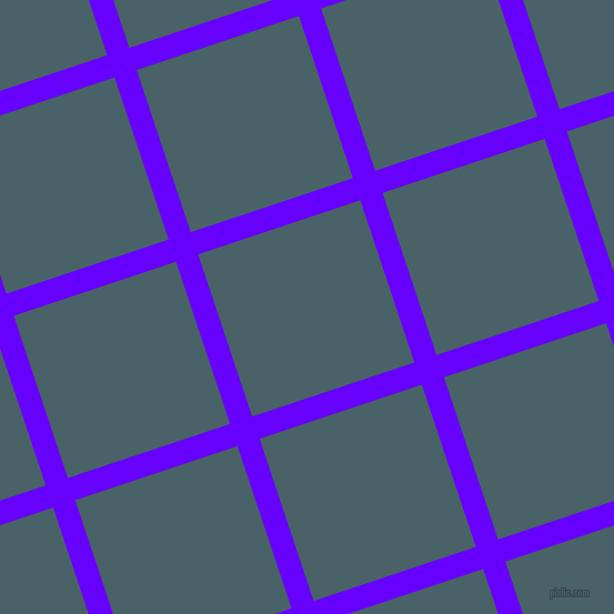 18/108 degree angle diagonal checkered chequered lines, 21 pixel line width, 154 pixel square size, Electric Indigo and Smalt Blue plaid checkered seamless tileable