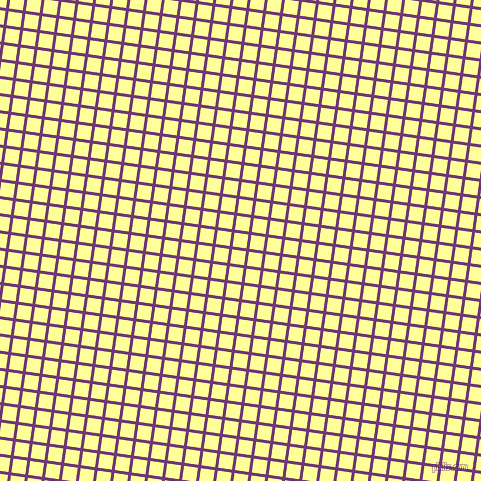 82/172 degree angle diagonal checkered chequered lines, 3 pixel lines width, 14 pixel square size, Eminence and Canary plaid checkered seamless tileable