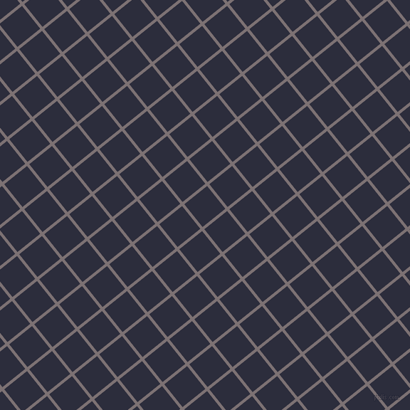 39/129 degree angle diagonal checkered chequered lines, 4 pixel line width, 41 pixel square size, Empress and Black Rock plaid checkered seamless tileable