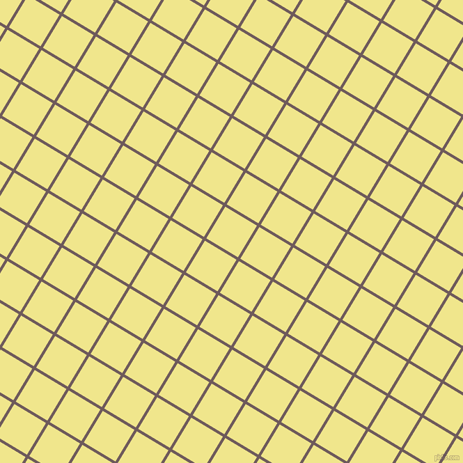 59/149 degree angle diagonal checkered chequered lines, 4 pixel lines width, 53 pixel square size, Falcon and Khaki plaid checkered seamless tileable