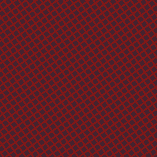 36/126 degree angle diagonal checkered chequered lines, 6 pixel lines width, 15 pixel square size, Falu Red and Castro plaid checkered seamless tileable