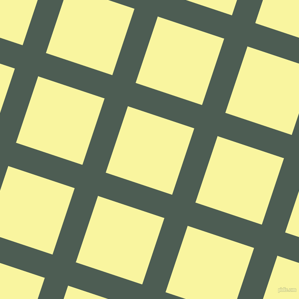 72/162 degree angle diagonal checkered chequered lines, 48 pixel line width, 137 pixel square size, Feldgrau and Pale Prim plaid checkered seamless tileable