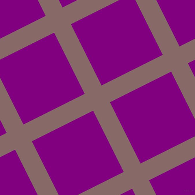 27/117 degree angle diagonal checkered chequered lines, 65 pixel line width, 237 pixel square size, Ferra and Purple plaid checkered seamless tileable