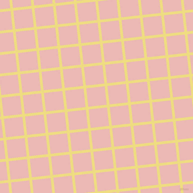 6/96 degree angle diagonal checkered chequered lines, 11 pixel line width, 74 pixel square size, Flax and Beauty Bush plaid checkered seamless tileable