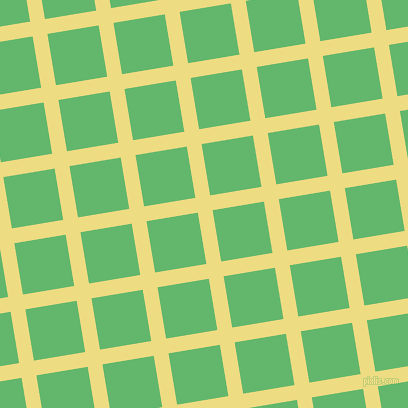 9/99 degree angle diagonal checkered chequered lines, 15 pixel lines width, 52 pixel square size, Flax and Fern plaid checkered seamless tileable