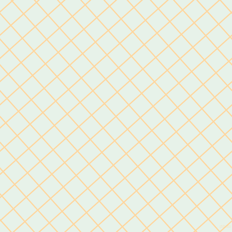 42/132 degree angle diagonal checkered chequered lines, 4 pixel lines width, 52 pixel square size, Frangipani and Dew plaid checkered seamless tileable