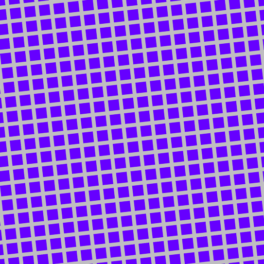 6/96 degree angle diagonal checkered chequered lines, 8 pixel line width, 22 pixel square size, French Grey and Electric Indigo plaid checkered seamless tileable