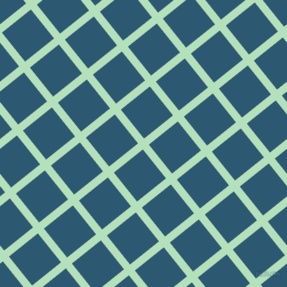 39/129 degree angle diagonal checkered chequered lines, 11 pixel lines width, 53 pixel square size, Fringy Flower and Chathams Blue plaid checkered seamless tileable