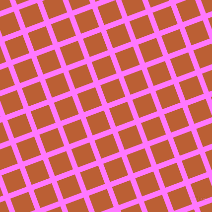 21/111 degree angle diagonal checkered chequered lines, 11 pixel line width, 39 pixel square size, Fuchsia Pink and Smoke Tree plaid checkered seamless tileable