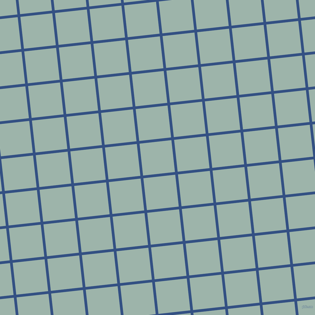 6/96 degree angle diagonal checkered chequered lines, 9 pixel lines width, 106 pixel square size, Fun Blue and Skeptic plaid checkered seamless tileable