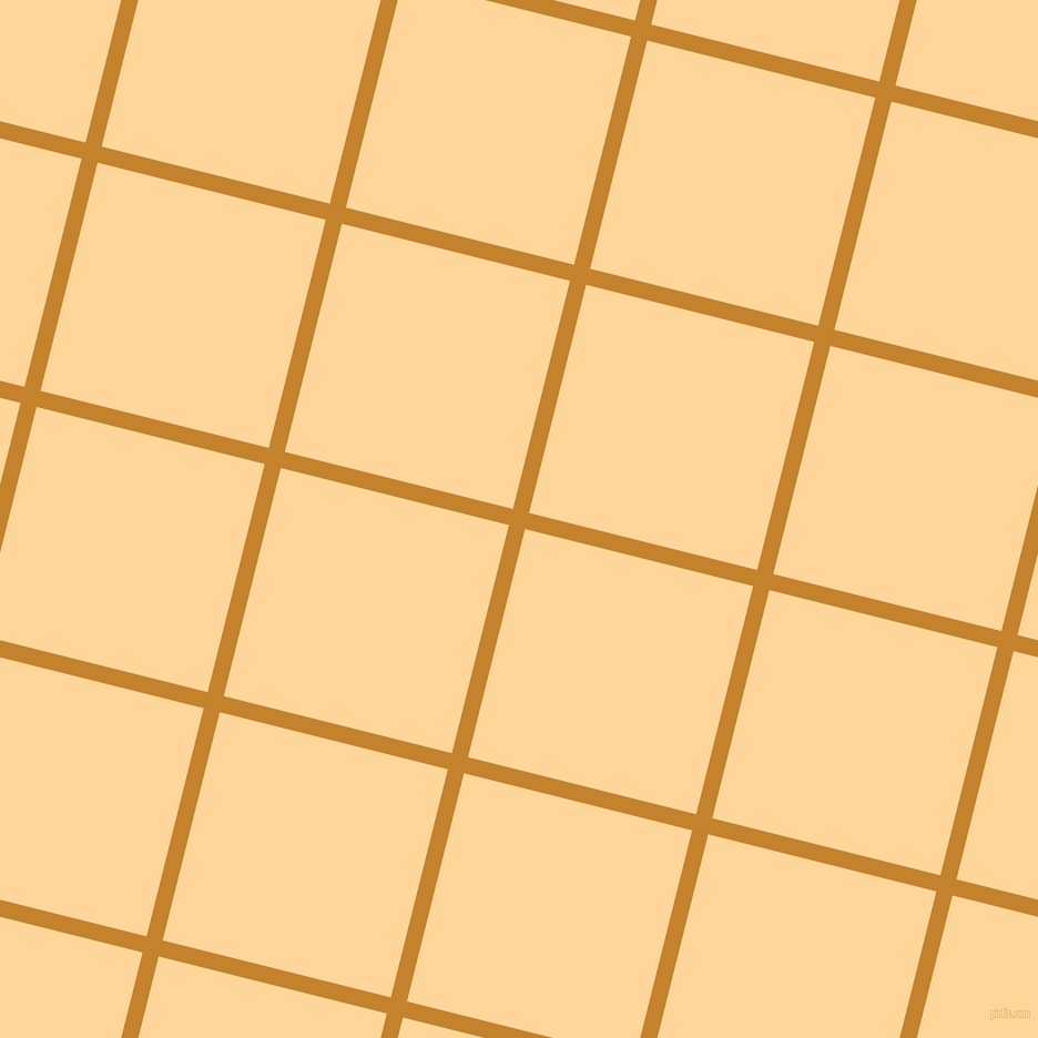 76/166 degree angle diagonal checkered chequered lines, 15 pixel lines width, 212 pixel square size, Geebung and Caramel plaid checkered seamless tileable