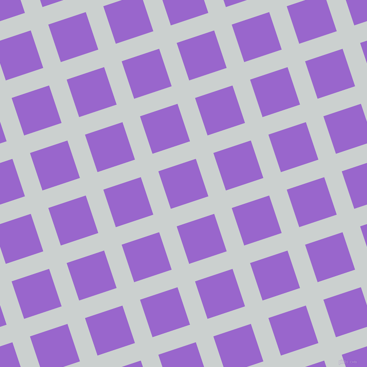 18/108 degree angle diagonal checkered chequered lines, 36 pixel lines width, 77 pixel square size, Geyser and Amethyst plaid checkered seamless tileable