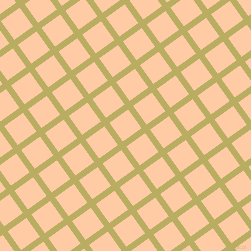 36/126 degree angle diagonal checkered chequered lines, 20 pixel lines width, 76 pixel square size, Gimblet and Peach plaid checkered seamless tileable