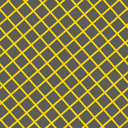 41/131 degree angle diagonal checkered chequered lines, 6 pixel lines width, 35 pixel square size, Gold and Chicago plaid checkered seamless tileable