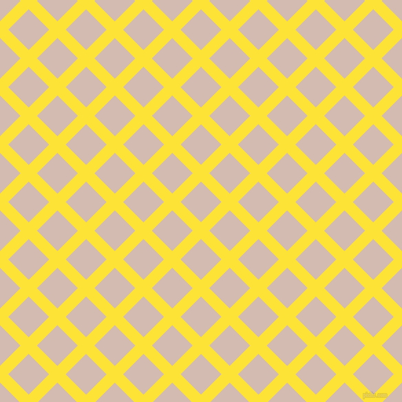 45/135 degree angle diagonal checkered chequered lines, 17 pixel lines width, 42 pixel square size, Gorse and Wafer plaid checkered seamless tileable