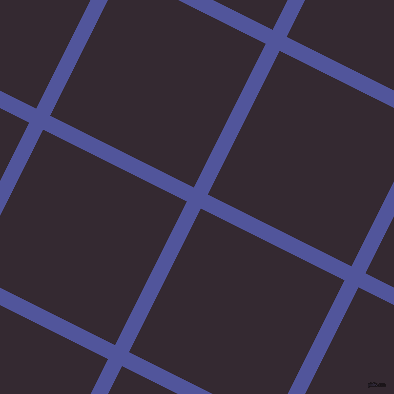 63/153 degree angle diagonal checkered chequered lines, 32 pixel lines width, 329 pixel square size, Governor Bay and Melanzane plaid checkered seamless tileable