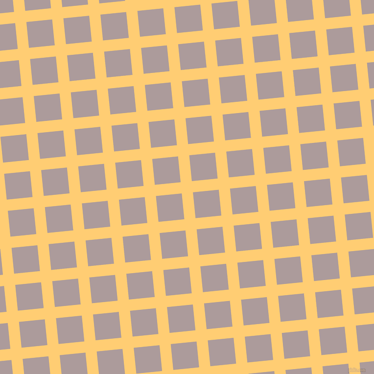 6/96 degree angle diagonal checkered chequered lines, 23 pixel line width, 53 pixel square size, Grandis and Dusty Grey plaid checkered seamless tileable