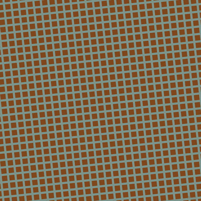 6/96 degree angle diagonal checkered chequered lines, 9 pixel line width, 22 pixel square size, Granny Smith and Russet plaid checkered seamless tileable