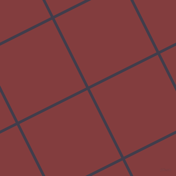 27/117 degree angle diagonal checkered chequered lines, 9 pixel lines width, 249 pixel square size, Grape and Stiletto plaid checkered seamless tileable