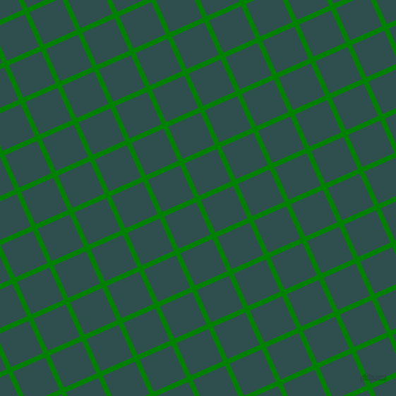 24/114 degree angle diagonal checkered chequered lines, 7 pixel lines width, 50 pixel square size, Green and Dark Slate Grey plaid checkered seamless tileable