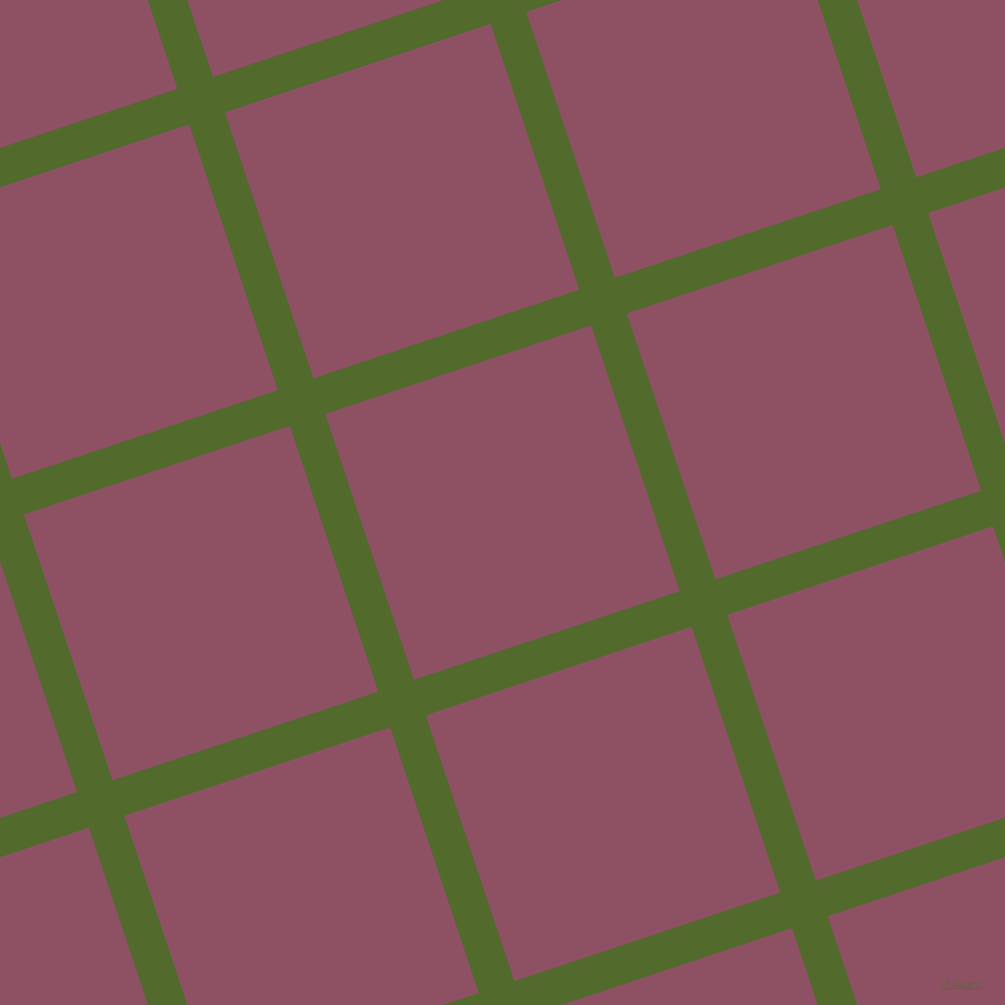 18/108 degree angle diagonal checkered chequered lines, 34 pixel lines width, 254 pixel square size, Green Leaf and Cannon Pink plaid checkered seamless tileable
