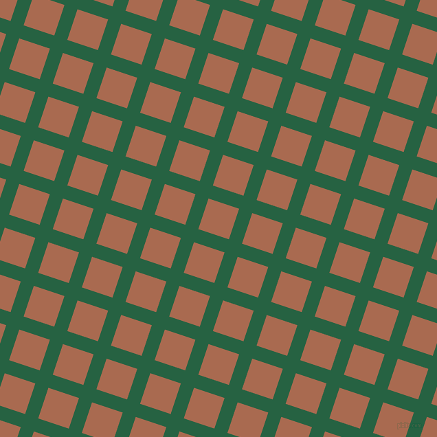 72/162 degree angle diagonal checkered chequered lines, 20 pixel lines width, 47 pixel square size, Green Pea and Sante Fe plaid checkered seamless tileable