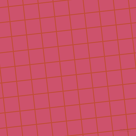 6/96 degree angle diagonal checkered chequered lines, 3 pixel line width, 46 pixel square size, Grenadier and Cabaret plaid checkered seamless tileable
