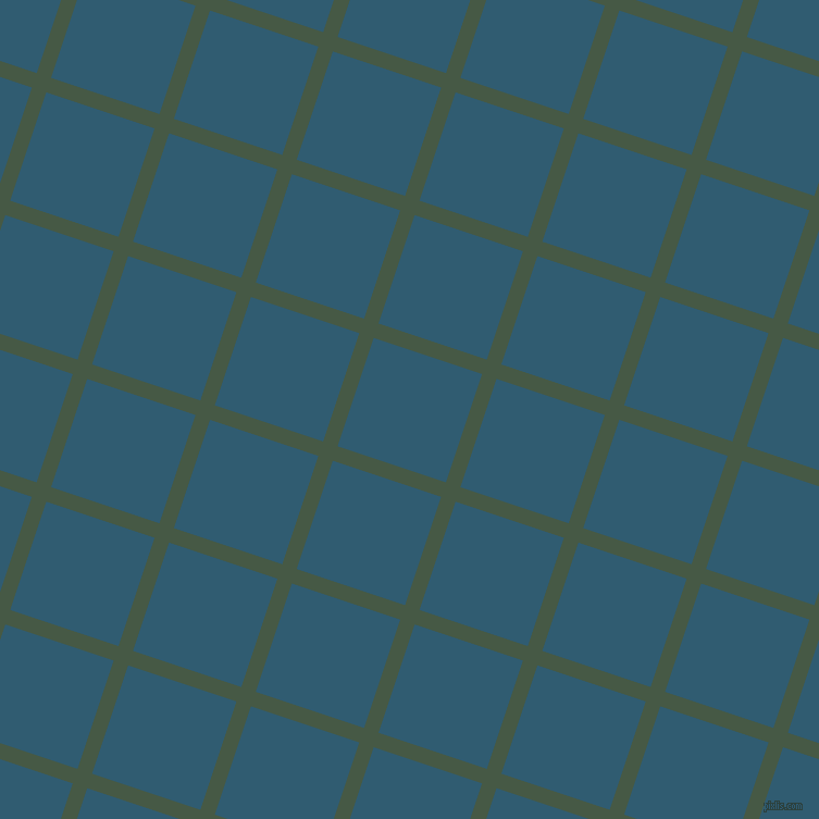 72/162 degree angle diagonal checkered chequered lines, 14 pixel line width, 105 pixel square size, Grey-Asparagus and Blumine plaid checkered seamless tileable