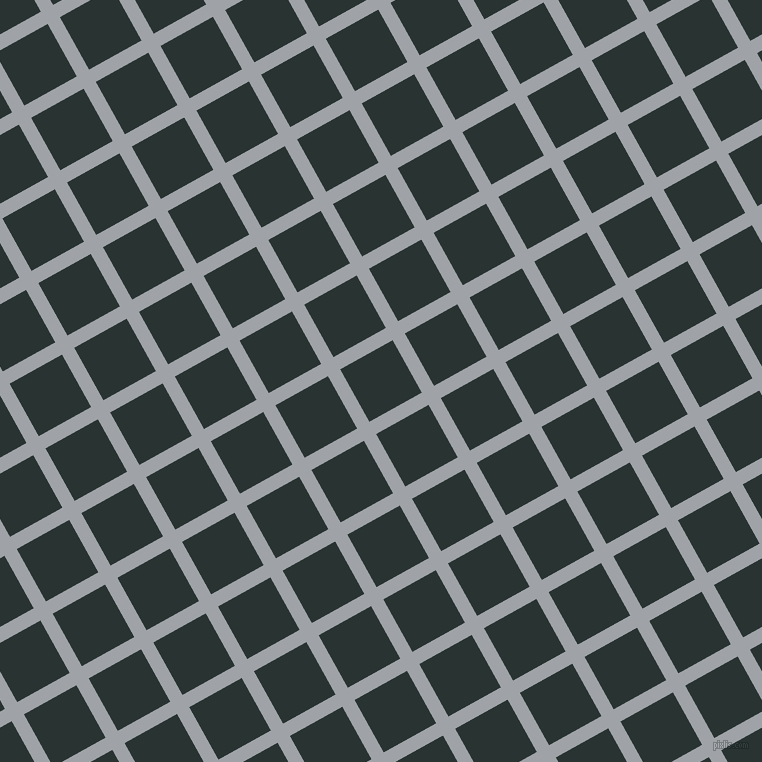 29/119 degree angle diagonal checkered chequered lines, 14 pixel lines width, 60 pixel square size, Grey Chateau and Aztec plaid checkered seamless tileable