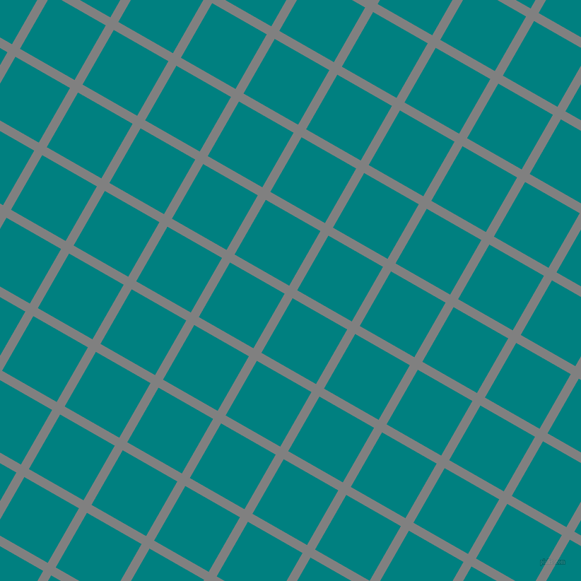 60/150 degree angle diagonal checkered chequered lines, 13 pixel line width, 89 pixel square size, Grey and Teal plaid checkered seamless tileable
