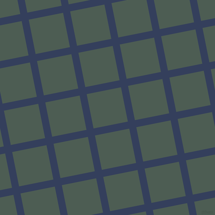 11/101 degree angle diagonal checkered chequered lines, 23 pixel line width, 112 pixel square size, Gulf Blue and Feldgrau plaid checkered seamless tileable