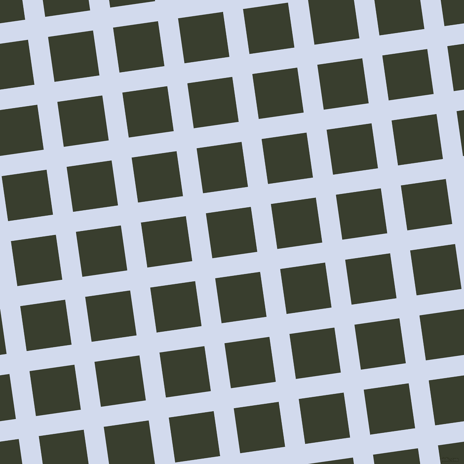 8/98 degree angle diagonal checkered chequered lines, 41 pixel line width, 92 pixel square size, Hawkes Blue and Log Cabin plaid checkered seamless tileable