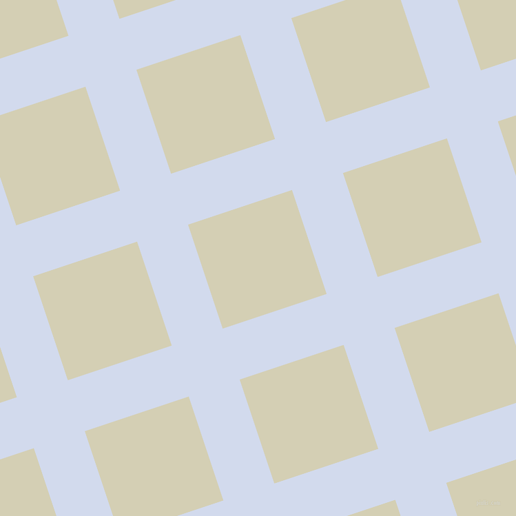 18/108 degree angle diagonal checkered chequered lines, 78 pixel lines width, 159 pixel square size, Hawkes Blue and White Rock plaid checkered seamless tileable