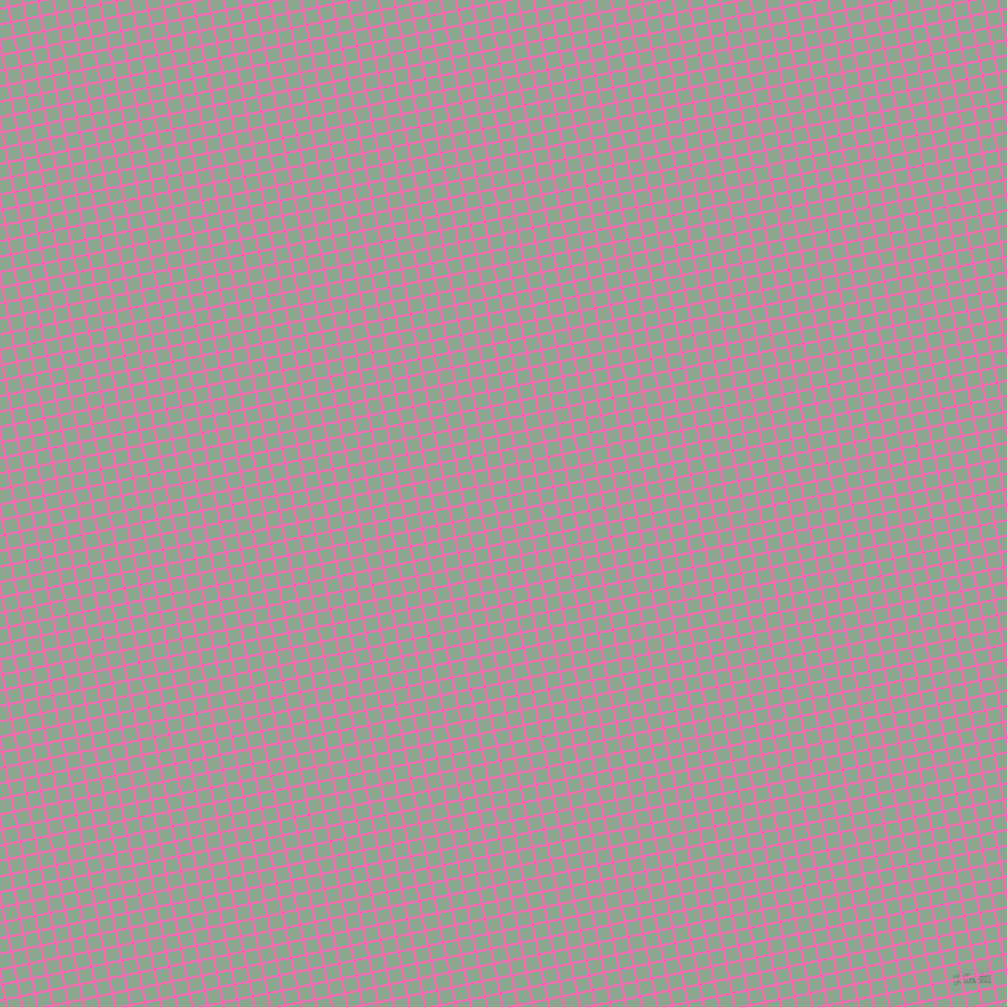 11/101 degree angle diagonal checkered chequered lines, 2 pixel line width, 12 pixel square size, Hot Pink and Envy plaid checkered seamless tileable