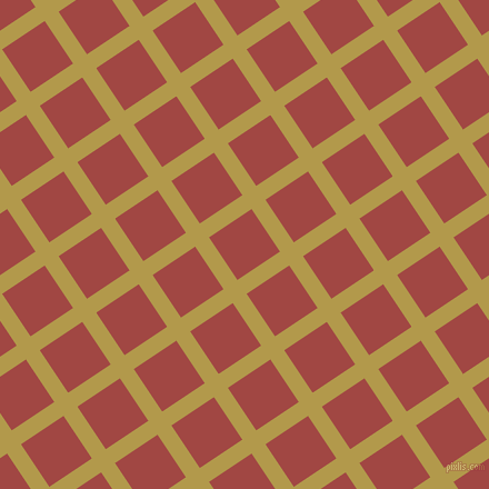 34/124 degree angle diagonal checkered chequered lines, 15 pixel lines width, 46 pixel square size, Husk and Roof Terracotta plaid checkered seamless tileable